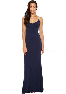 Adrianna Papell Jersey Modified Mermaid Gown