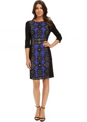 Adrianna Papell Jewel Printed Pointe Dress