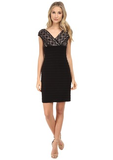 Adrianna Papell Lace Banded Dress