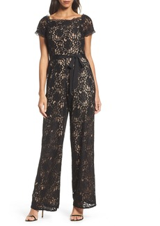 Adrianna Papell Lace Jumpsuit