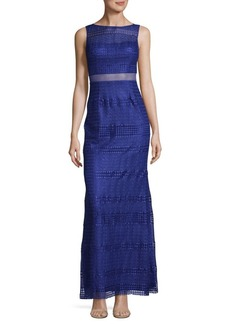 Adrianna Papell Lace Modified Neptune Dress