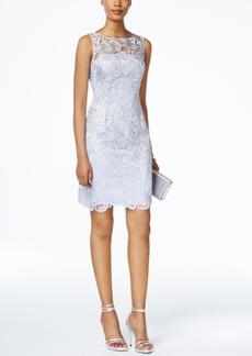 Adrianna Papell Lace Sheath Dress