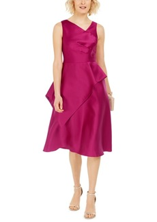 Adrianna Papell Mikado Midi Dress