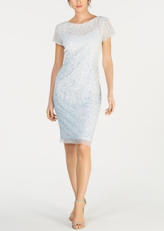 Adrianna Papell Ombre Illusion Sheath Dress