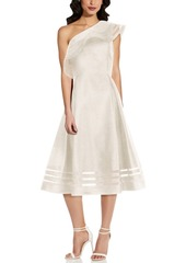 Adrianna Papell Macato One-Shoulder Dress
