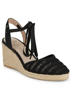 Adrianna Papell Penny Lace Wedge Sandals
