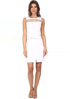 Adrianna Papell Peplum Sheath Dress