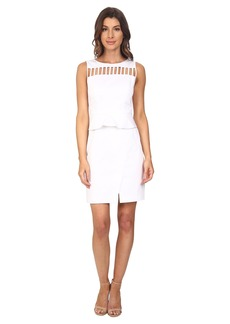 Adrianna Papell Peplum Sheath Dress