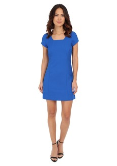 Adrianna Papell Pique A-Line Dress
