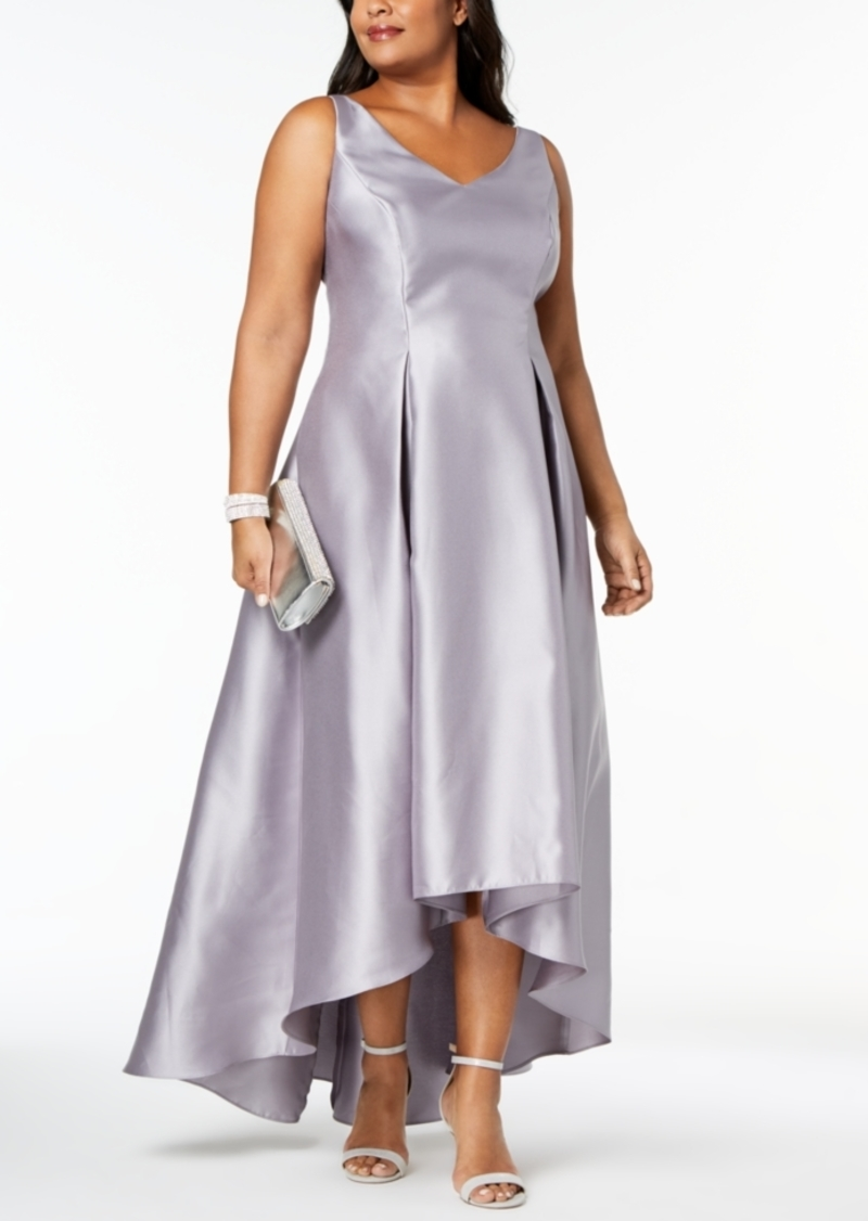 Adrianna Papell Adrianna Papell Plus Size High-Low Ball Gown | Dresses