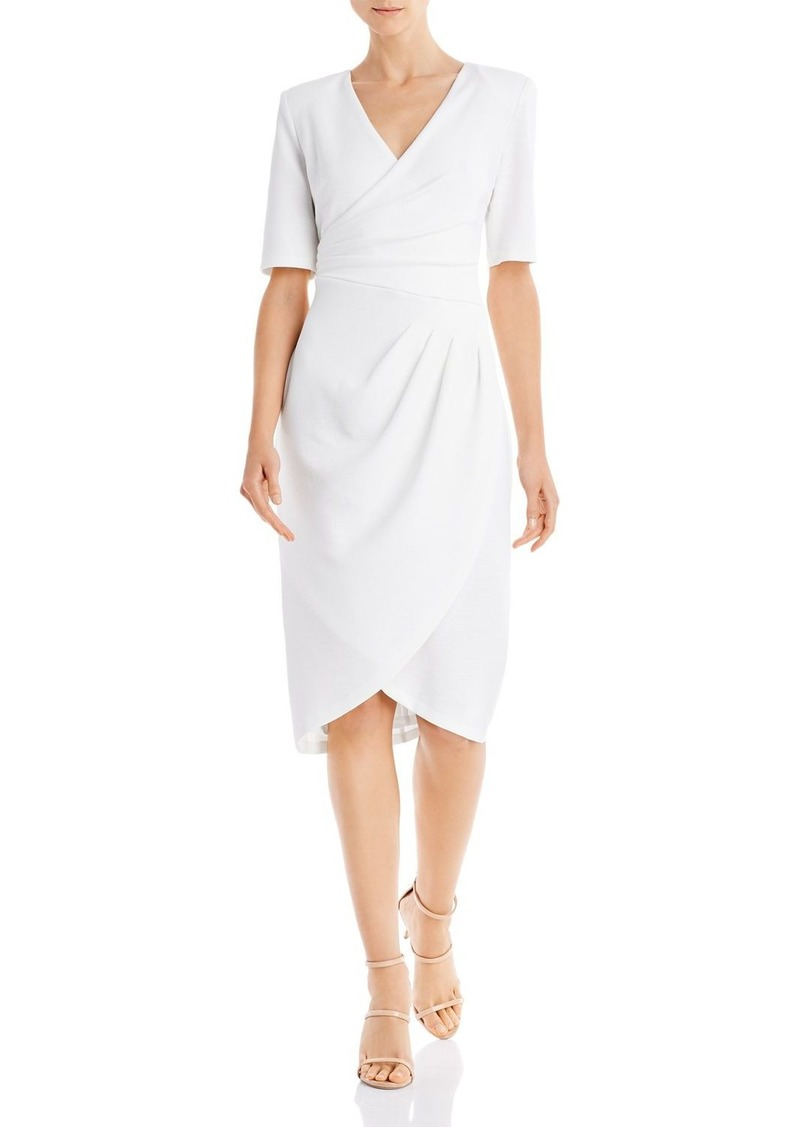 Adrianna Papell Rio Ruched Knit Sheath Dress