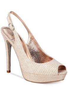 Adrianna Papell Rita Slingback Evening Pumps Women's Shoes
