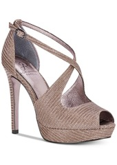Adrianna Papell Rosalie Platform Evening Sandals Women's Shoes