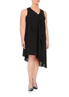 Ruffled Chiffon Dress