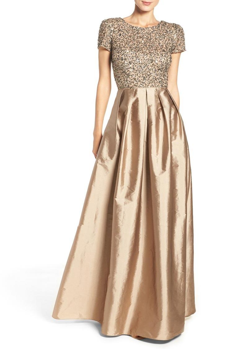 2256a934721fc0 Adrianna Papell Adrianna Papell Sequin Bodice Taffeta Ballgown | Dresses
