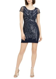 Papell Studio by Adrianna Papell Sequined Sheath Dress