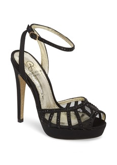 Adrianna Papell Simone Crystal Embellished Platform Sandal (Women)