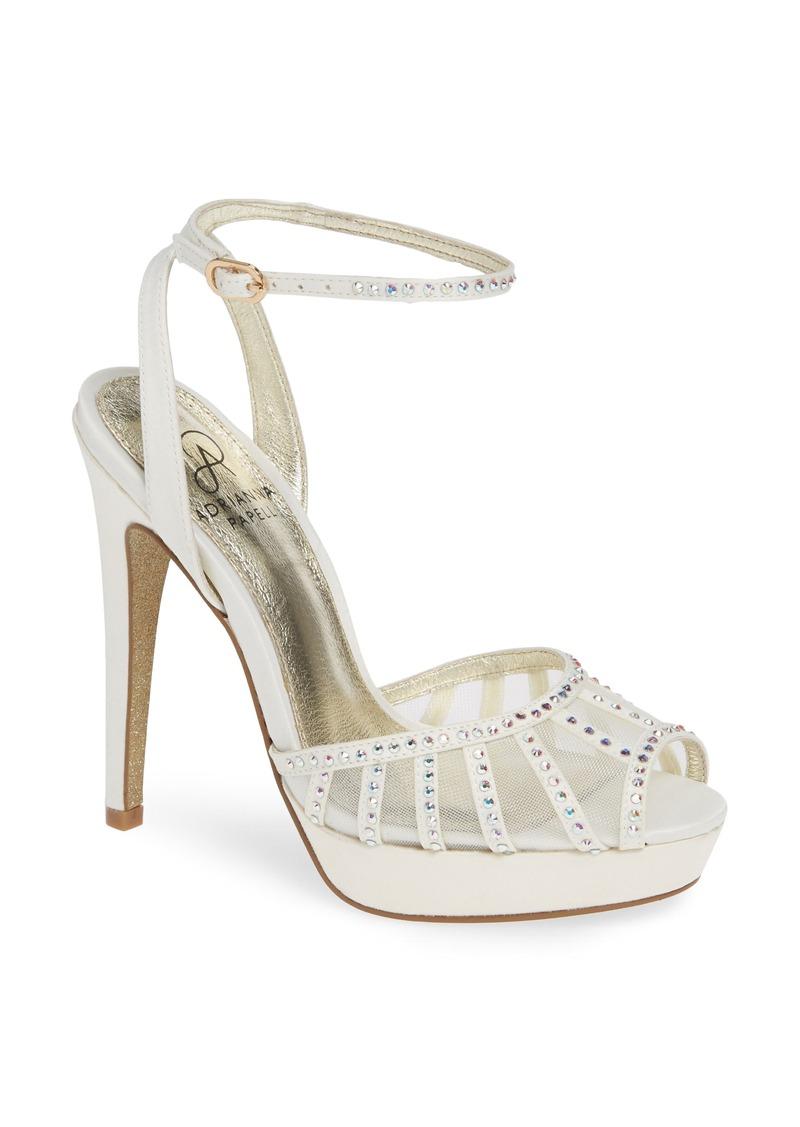 7d1bfa53df68 Adrianna Papell Adrianna Papell Simone Crystal Embellished Platform ...