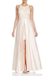 Adrianna Papell Sleeveless Beaded Evening Dress
