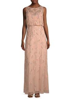 Sleeveless Blouson Gown