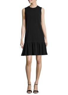 Adrianna Papell Sleeveless Drop-Waist Shift Dress