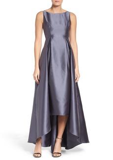 Adrianna Papell Sleeveless High/Low Ballgown (Regular & Petite)