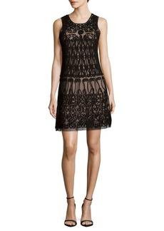 Adrianna Papell Sleeveless Shift Dress