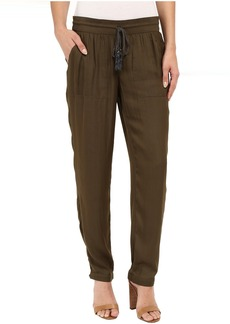 Adrianna Papell Soft Pants w/ Brainded Drawstring