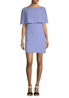 Adrianna Papell Split-Sleeve Popover Dress