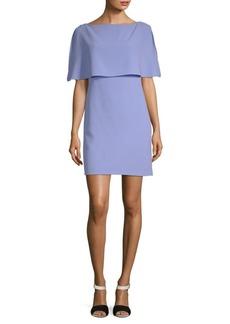 Split-Sleeve Popover Dress
