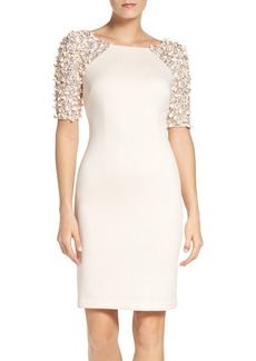 Adrianna Papell St. Arcadia Beaded Cocktail Dress