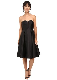 Adrianna Papell Strapless Mikado Party Dress