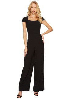 Adrianna Papell Stretch Crepe Jumpsuit