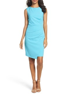 Adrianna Papell Stretch Sheath Dress