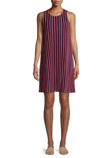 Adrianna Papell Striped Knit Shift Dress