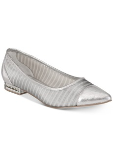 Adrianna Papell Tiffany Pointed-Toe Evening Flats Women's Shoes