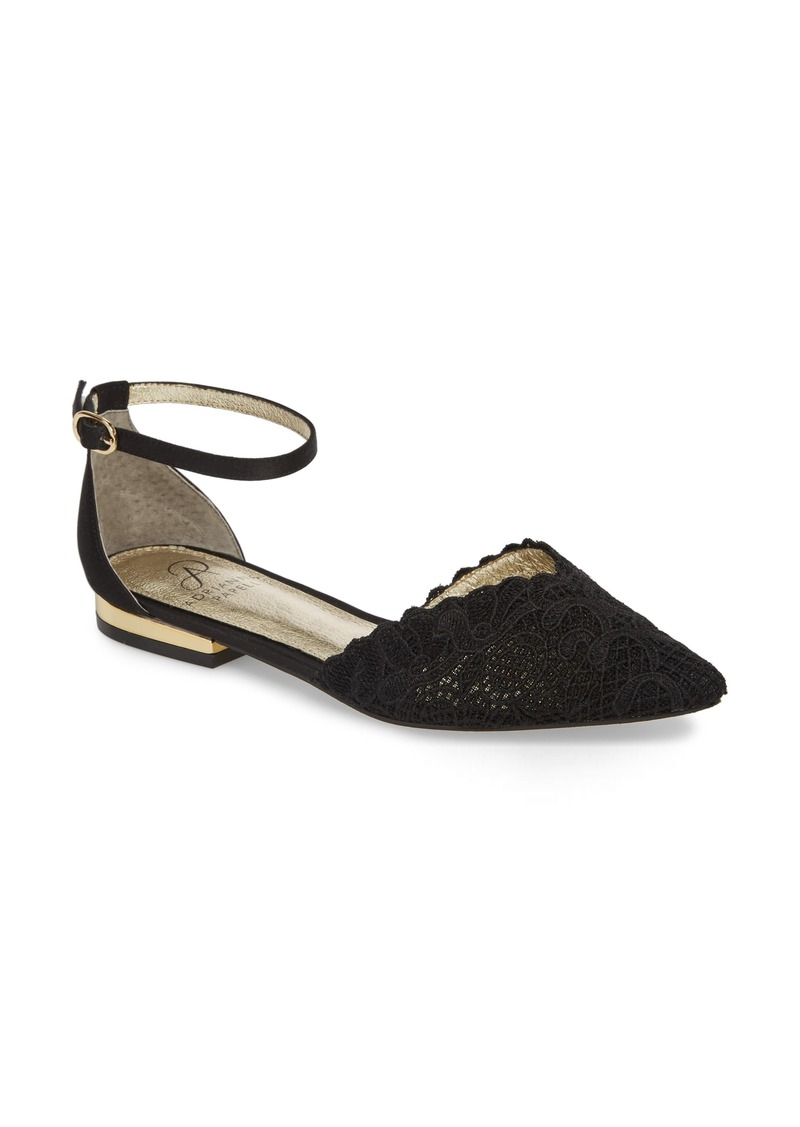 Adrianna Papell Trala Ankle Strap Flat (Women)