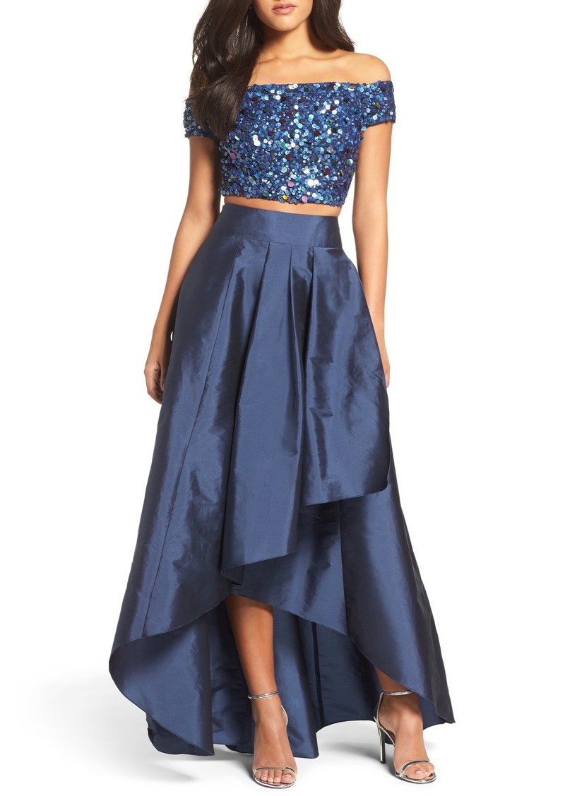 Adrianna Papell Adrianna Papell Two-Piece Ballgown   Dresses