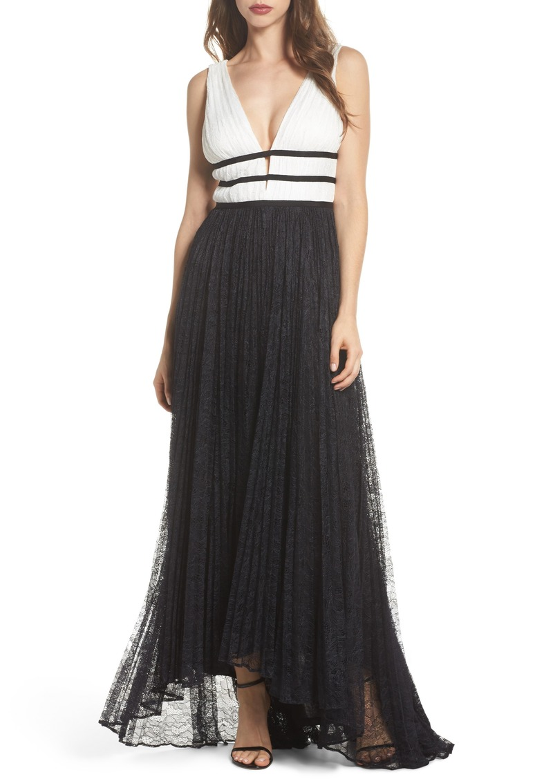 Adrianna Papell Adrianna Papell Two-Tone Lace Gown | Dresses - Shop ...