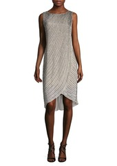 Adrianna Papell V-Back Asymmetrical Dress