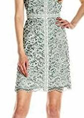 Adrianna Papell Women's A-Line Dress with Trim