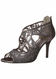 Adrianna Papell Women's Arissa Pump Gunmetal Chagall lace