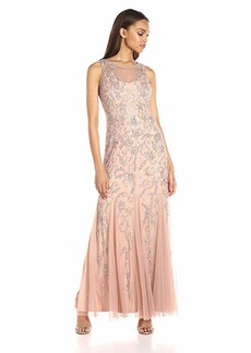 Adrianna Papell Women's Beaded Gown