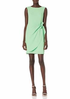 Adrianna Papell Women's Cameron Draped TIE Dress