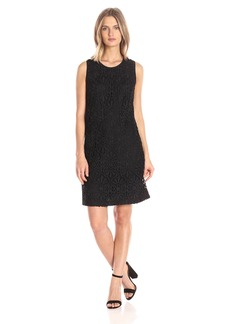 Adrianna Papell Women's Chemical Lace Trapeze Dress