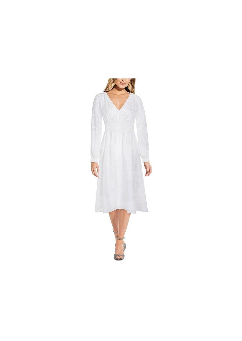 Adrianna Papell Women's Chiffon MIDI Dress