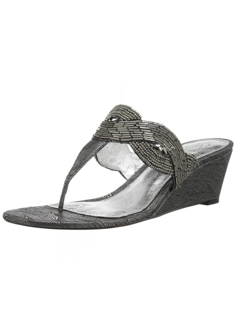 Adrianna Papell Women's Coco Wedge Sandal   M US