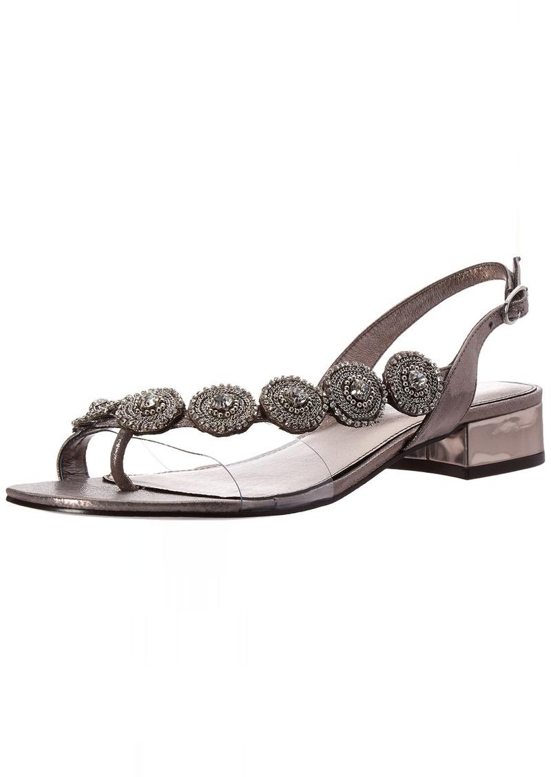 Adrianna Papell Women's Daisy Flat Sandal  M US