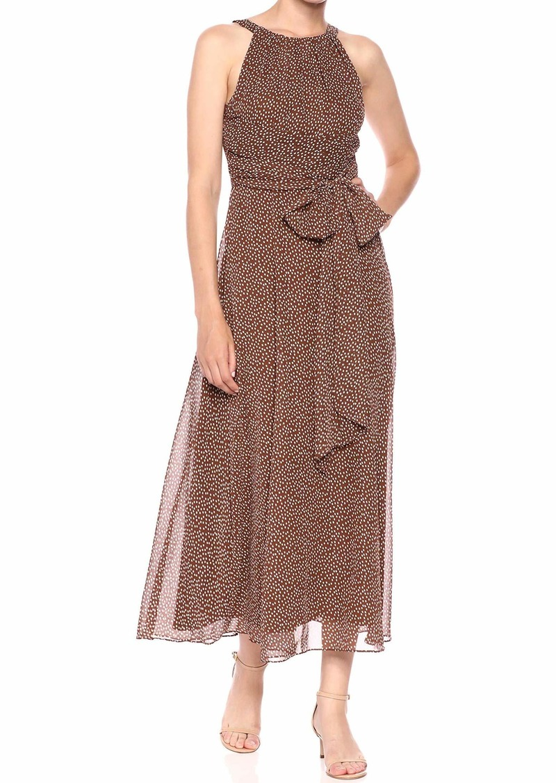 Adrianna Papell Women's Darling DOT MIDI Dress
