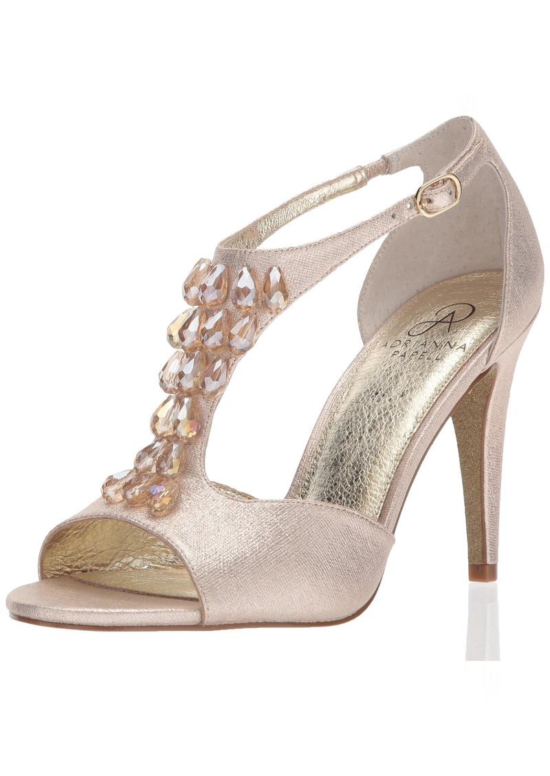 Adrianna Papell Women's Esmond Heeled Sandal  10 Medium US